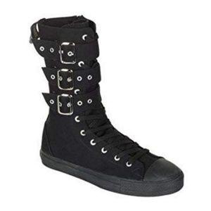 Demonia Deviant High Top Sneakers